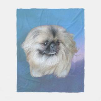 Blue Beauty Fleece Blanket