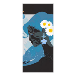 blue beauty rack card