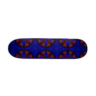 Blue Beauty Skateboard Deck