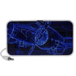 Blue Beech Notebook Speaker