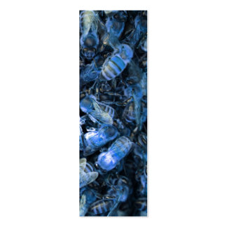 Blue Bees Mini Business Card
