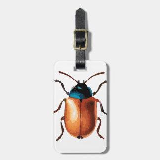 Blue Beetle Bag Tag