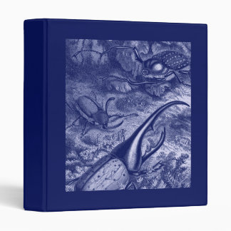 Blue Beetles Print Binder