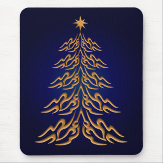 Blue Bell  Christmas Tree Mouse Pad