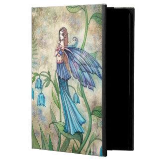 Blue Bell Flower Fairies Fantasy Art iPad Air Cover