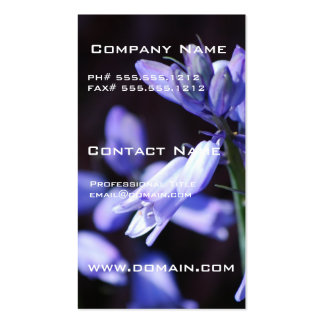Blue Bell Flowers Business Cards