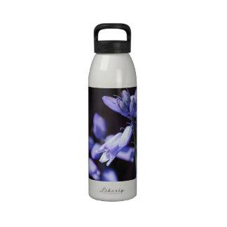 Blue Bell Flowers Water Bottle