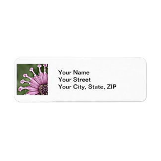 Blue Bell Tunicate Centered with antique filter Return Address Label