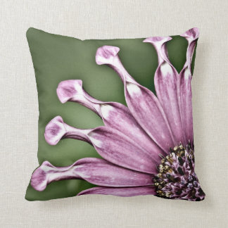 Blue Bell Tunicate Centered with antique filter Throw Pillow