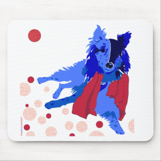 Blue Belle Daydreaming Mousepad