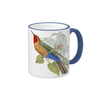 Blue Bellied Bee Eater and Empress of India Mug