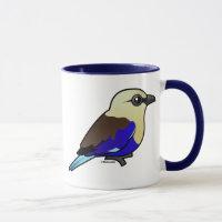 Blue-bellied Roller Combo Mug