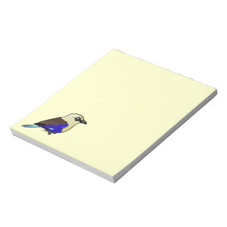 Blue-bellied Roller Note Pad