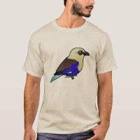 Blue-bellied Roller Men's Basic T-Shirt
