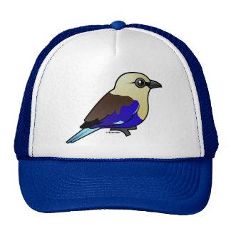 Blue-bellied Roller Trucker Hat