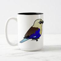 Blue-bellied Roller Two-Tone Mug
