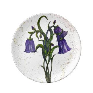 Blue Bells – Porcelain Plate