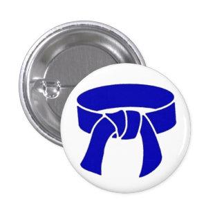 Blue Belt pinback button