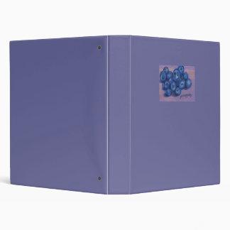 Blue Berries Lavander Binder