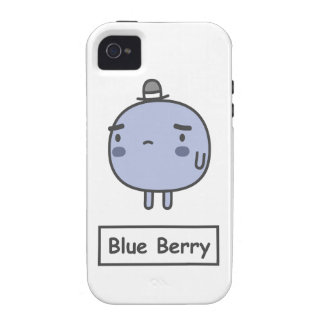 Blue Berry Case-Mate iPhone 4 Covers