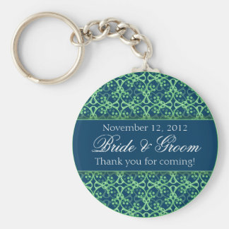 Blue Berry Clusters Keychain