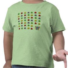 Blue Berry Pattern T Shirts at Zazzle