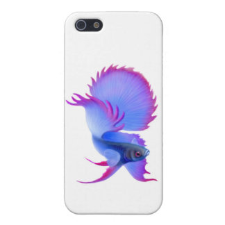 Blue Betta Fighting Fish iPhone Case