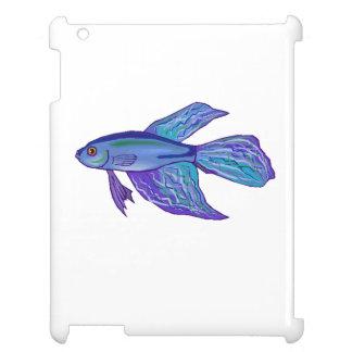 Blue Betta Fish Case For The iPad