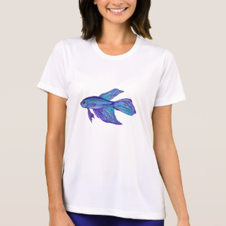 Blue Betta Fish T-Shirt