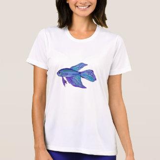 Blue Betta Fish T Shirts