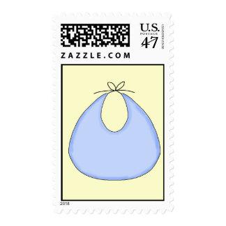 Blue Bib Stamp