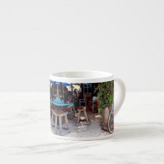 Blue Bicycle Espresso Cup
