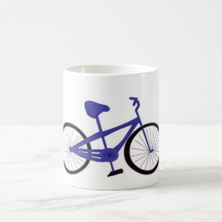 Blue Bicycle Mug