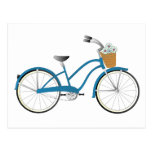 Blue Bicycle Postcard