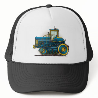 Blue Big Dozer Tractor Hats