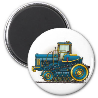 Blue Big Dozer Tractor Magnets