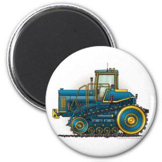 Blue Big Dozer Tractor Magnets
