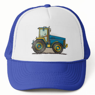 Blue Big Tractor Hats
