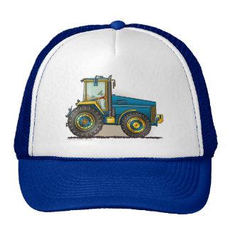 Blue Big Tractor Hats