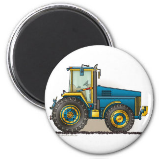 Blue Big Tractor Magnets
