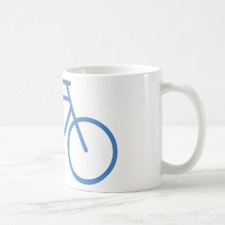 blue bike icon bicycle cylce coffee mugs