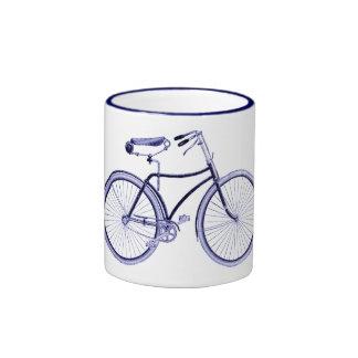 Blue Bike Mugs