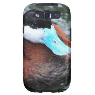 Blue Billed Duck Samsung Galaxy Case Galaxy SIII Cover