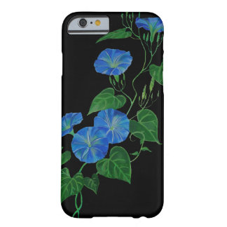 Blue Bindweed Barely There iPhone 6 Case