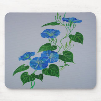 Blue Bindweed Mousepad