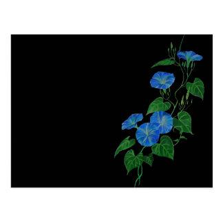 Blue Bindweed Postcard
