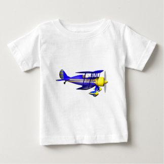 Blue Biplane Baby T-Shirt