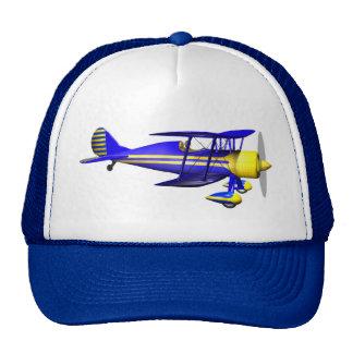Blue Biplane Trucker Hat
