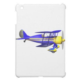 Blue Biplane iPad Mini Cases