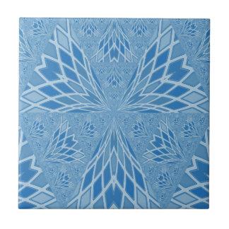 Blue Bird Abstract Ceramic Tile